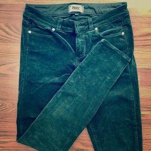 PAIGE Verdugo ultra skinny corduroy jeans/pants